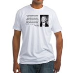 Thomas Jefferson 23 Fitted T-Shirt