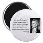 "Thomas Jefferson 23 2.25"" Magnet (100 pack)"