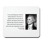 Thomas Jefferson 23 Mousepad