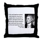 Thomas Jefferson 23 Throw Pillow