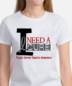 I Need a Cure Diabetes Tee