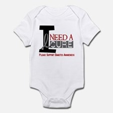 I Need a Cure Diabetes Infant Bodysuit