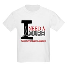 I Need a Cure Diabetes T-Shirt