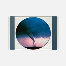 Tornado 2 Rectangle Magnet