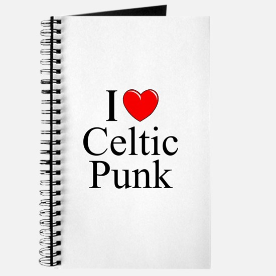 """I Love (Heart) Celtic Punk"" Journal"