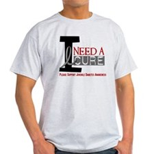 I Need A Cure JUVENILE DIABETES T-Shirt