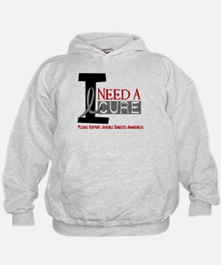 I Need A Cure JUVENILE DIABETES Hoodie