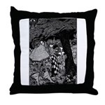 The Tinder Box Throw Pillow