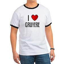 I LOVE GRUYERE T