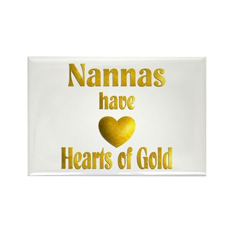 Nanna Rectangle Magnet (10 pack)