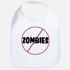 No Zombies Bib
