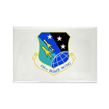 416th Rectangle Magnet