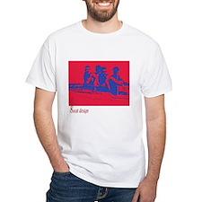 red/blue rower Shirt
