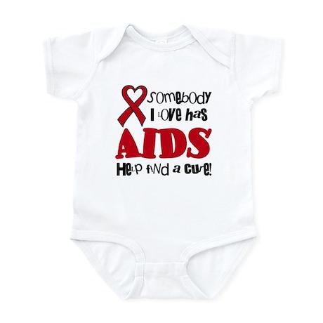 Somebody I love has Aids Baby Infant Bodysuit