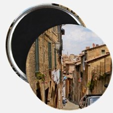Some street in Sienna Magnets