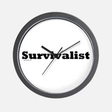 Survivalist Wall Clock
