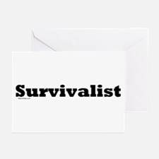Survivalist Greeting Cards (Pk of 10)
