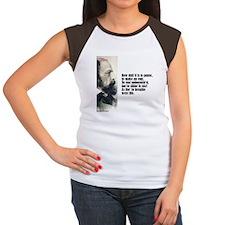"""Tennyson """"How Dull"""" Women's Cap Sleeve T-Shirt"""