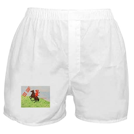 Horse Rider Boxer Shorts