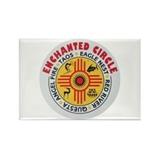 New Mexico's Enchanted Circle Rectangle Magnet