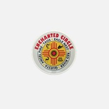 New Mexico's Enchanted Circle Mini Button