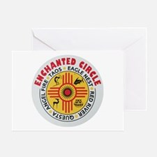 New Mexico's Enchanted Circle Greeting Card