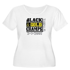 Black and Gold Champs T-Shirt