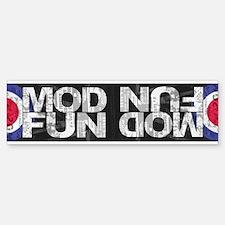 MOD FUN Bumper Bumper Bumper Sticker