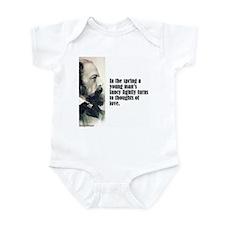 "Tennyson ""In the Spring"" Infant Bodysuit"