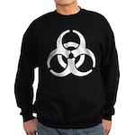 Biohazard Symbol Sweatshirt (dark)