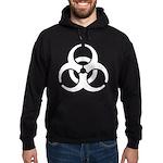Biohazard Symbol Hoodie (dark)