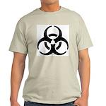 Biohazard Symbol Light T-Shirt