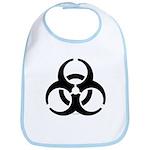 Biohazard Symbol Bib