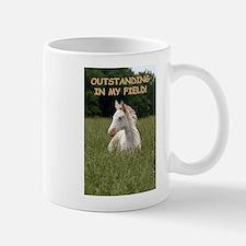 Outstanding  in My Field Mugs