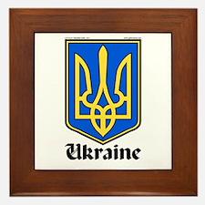 Ukraine: Heraldic Framed Tile