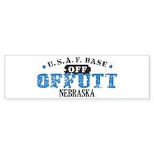 Offutt Air Force Base Bumper Car Sticker