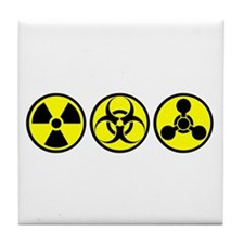 WMD / Chemical Weapons Tile Coaster