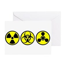 WMD / Chemical Weapons Greeting Cards (Pk of 10)