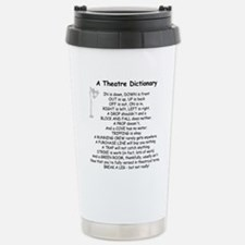 A Theatre Dictionary Travel Mug