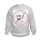 No Zombies Kids Sweatshirt