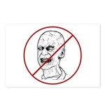 No Zombies Postcards (Package of 8)
