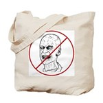 No Zombies Tote Bag