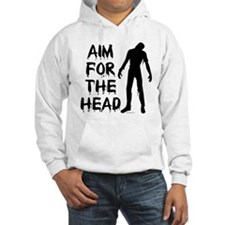 Aim For The Head Zombie Hoodie
