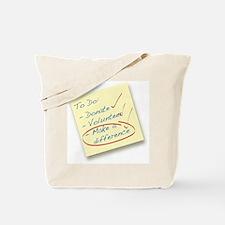 Unique Make a difference Tote Bag