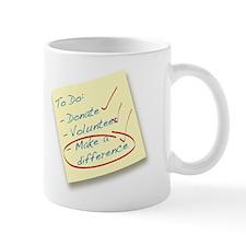 Make a Difference Post-It Mug