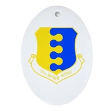 28th Oval Ornament