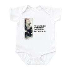 "Tennyson ""Loved & Lost"" Infant Bodysuit"