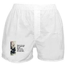 """Tennyson """"Joys & Griefs"""" Boxer Shorts"""