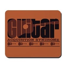 G.A.S. Acoustic Rust Mousepad