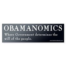 Government Determines Bumper Bumper Sticker